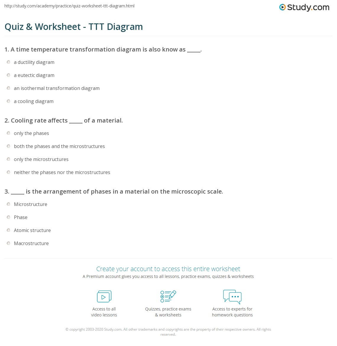 hight resolution of print how to read time temperature transformation diagrams worksheet
