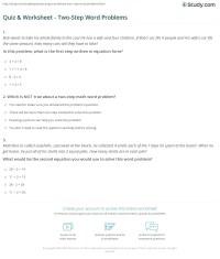 worksheet. Two Step Word Problems Worksheets. Grass Fedjp ...