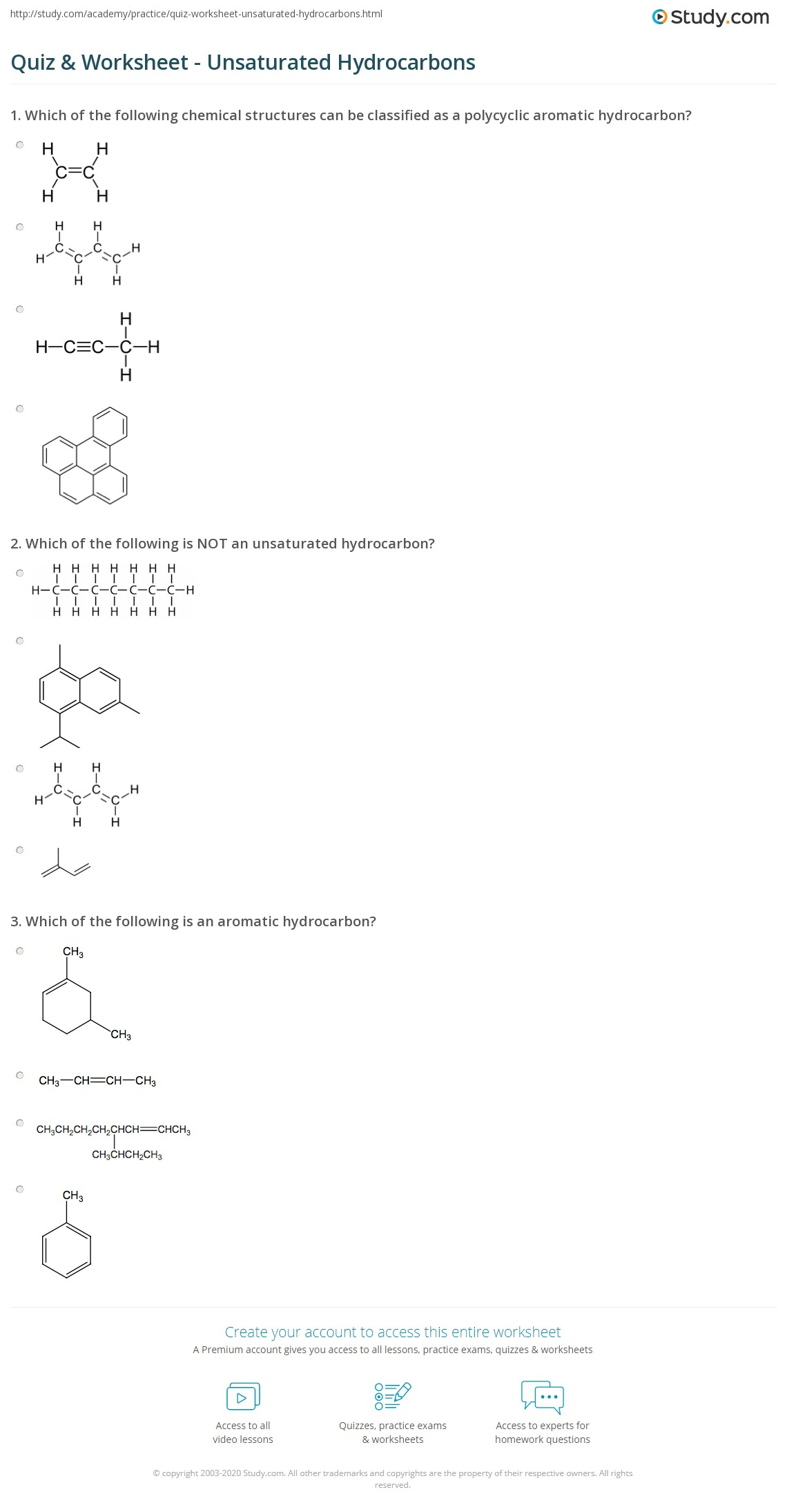 Beautiful Worksheet 6 1 Hydrocarbons And Isomers Draw The Correct