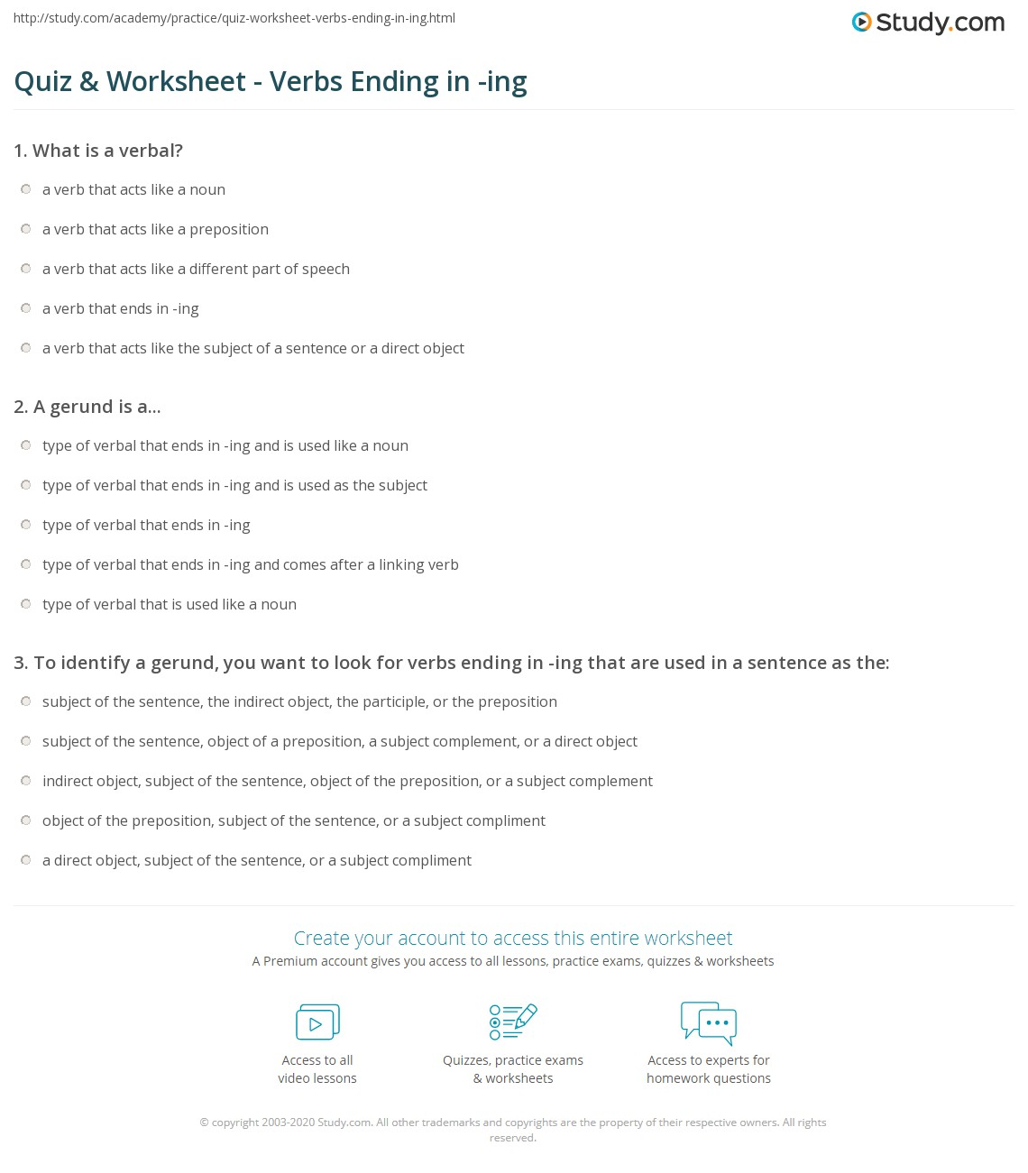 Direct And Indirect Object Worksheet