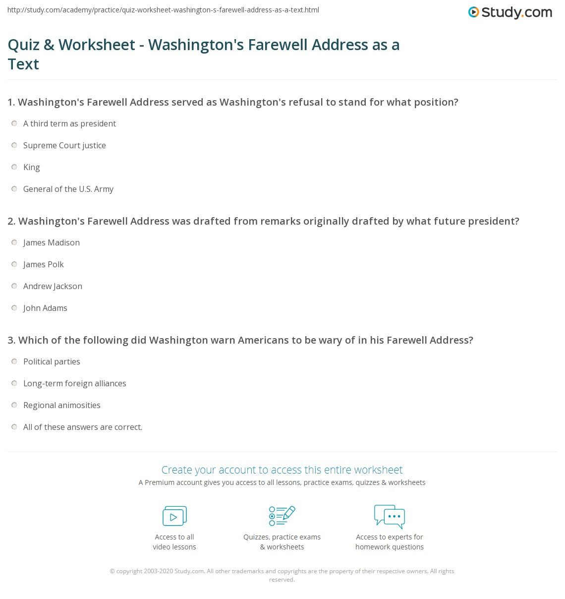 Worksheet George Washington Worksheets Grass Fedjp