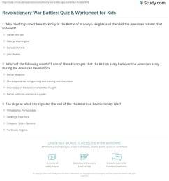 American Revolution Battles Worksheet - Nidecmege [ 1225 x 1140 Pixel ]