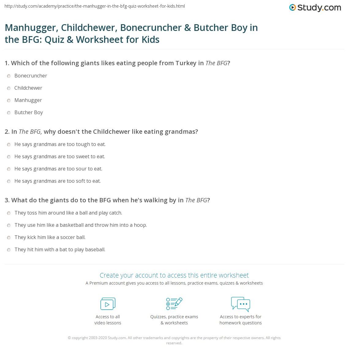 Manhugger Childchewer Bonecruncher Amp Butcher Boy In The