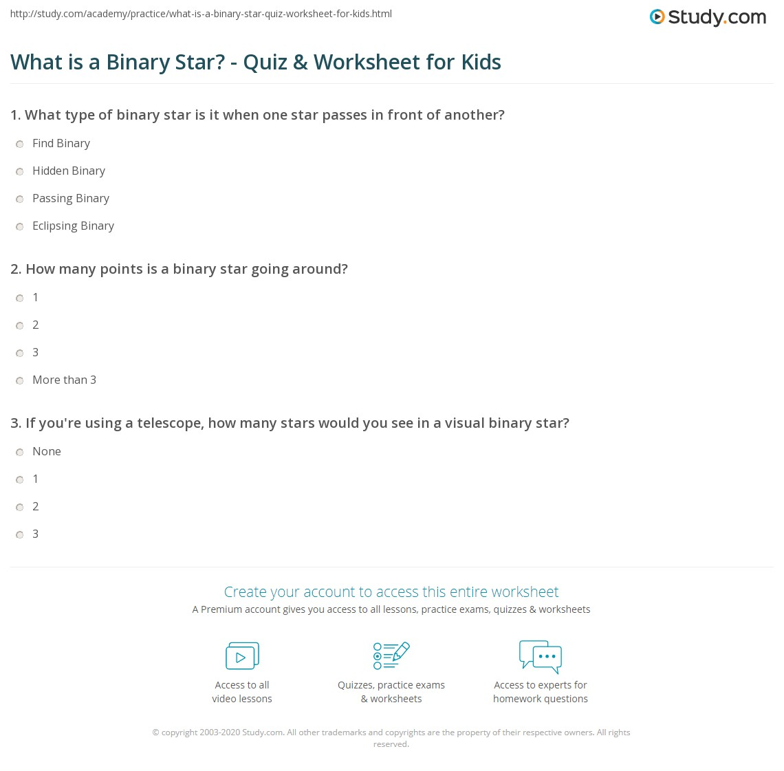 What Is A Binary Star