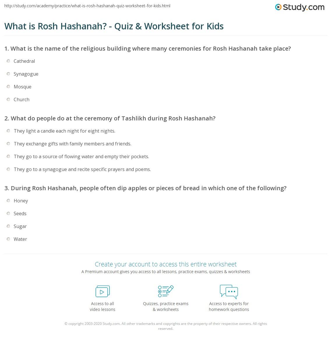What Is Rosh Hashanah