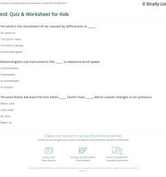 Wind: Quiz \u0026 Worksheet for Kids   Study.com [ 1121 x 1140 Pixel ]