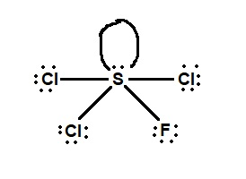 Based on the VSEPR theory, what is the molecular shape of