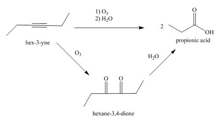 Draw the skeletal structure for the major organic product