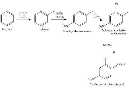 Devise a viable synthetic pathway to achieve the following
