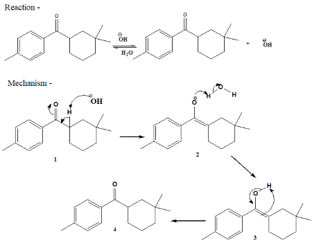 Predict the product for the following reaction based on