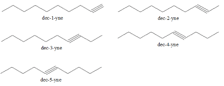 What is the name of the hydrocarbon having 10 carbons and