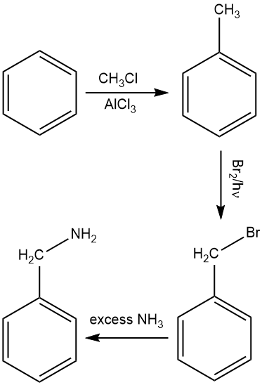 Solved: Show how you would synthesize this compound from