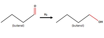 Give the name of the product of the following reaction