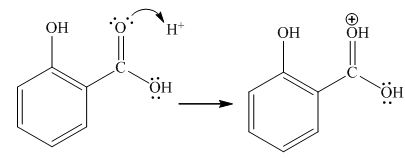 How methanol (CH 3 OH) react with salicylic acid (C 7 H 6