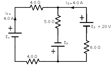 Consider the circuit shown in the figure. Note that two