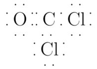 What is the Lewis structure for COCl2?   Study.com