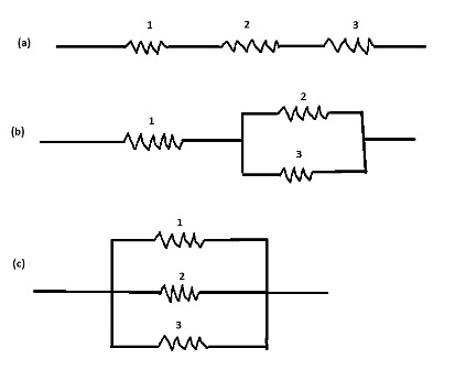 You are given three identical resistors of resistance R