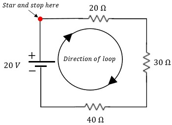 Series Circuit: Calculating Voltage Drops with Ohm's Law