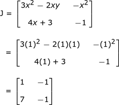 Newton-Raphson Method for Nonlinear Systems of Equations