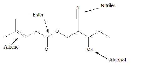 Which of the following functional groups is absent in the