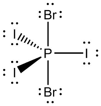PI3Br2 is a nonpolar molecule. Based on this information