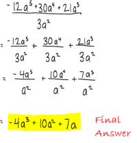 Dividing Polynomials By Monomials Worksheet. Worksheets ...
