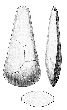 Stone Age Weapons & Cutting Tools: Knives & Hand Axes
