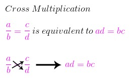 Solving a Rational Equation With Cross Multiplication