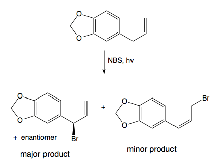 a) Complete the reaction. Indicate the major product if