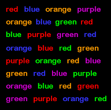The Stroop Effect in Psychology Definition Test