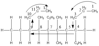 What is the name of the organic compound? (see Figure