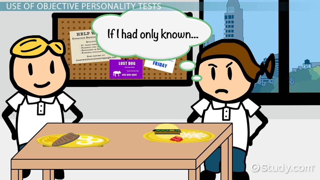 Objective Personality Tests Advantages Examples