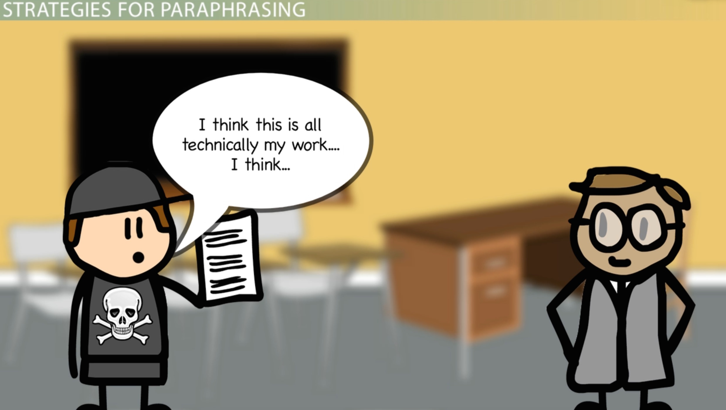 What Is Paraphrasing? Definition & Examples Video & Lesson