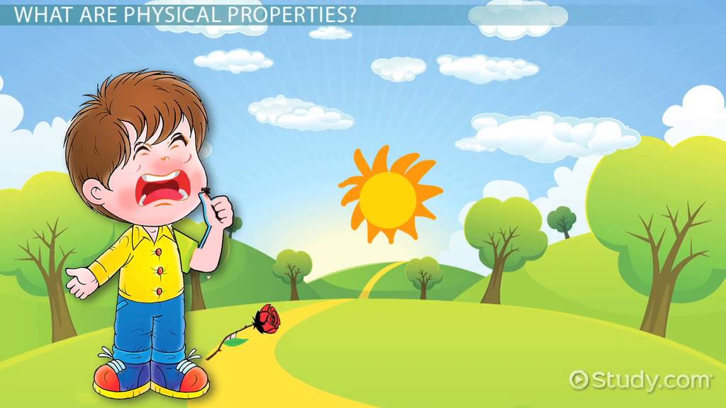 Physical Properties Lesson For Kids Video & Lesson