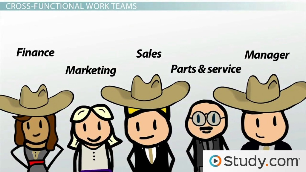 Types Of Work Teams Functional Cross Functional & Self