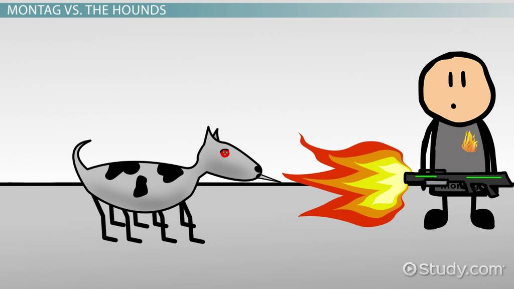 The Mechanical Hound In Fahrenheit 451 Video & Lesson