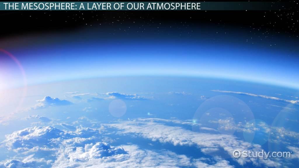 Mesosphere Definition Facts Temperature
