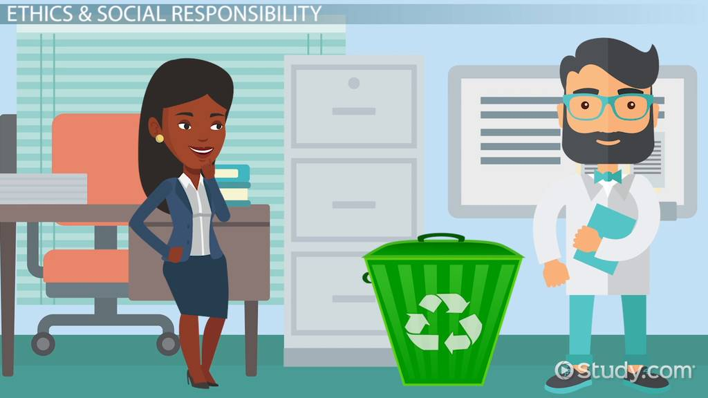 Difference Between Ethics & Social Responsibility Video