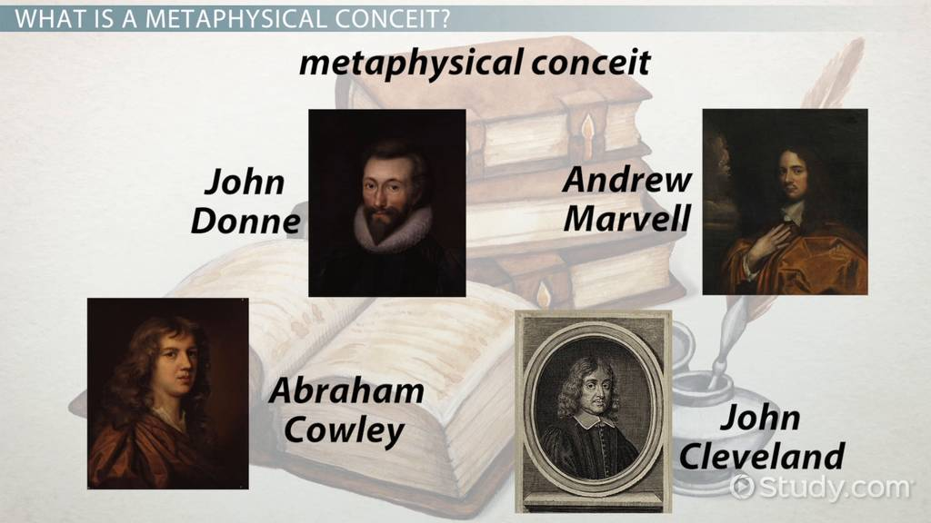 Metaphysical Conceit Definition & Examples Video