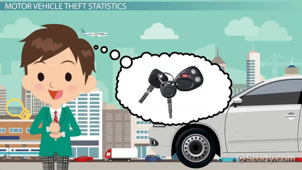 Motor Vehicle Theft Definition Statistics & Law Video