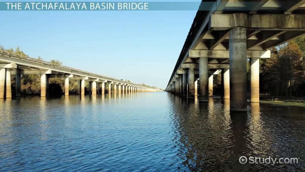 Atchafalaya Basin Bridge History Construction  Facts  Video  Lesson Transcript  Studycom