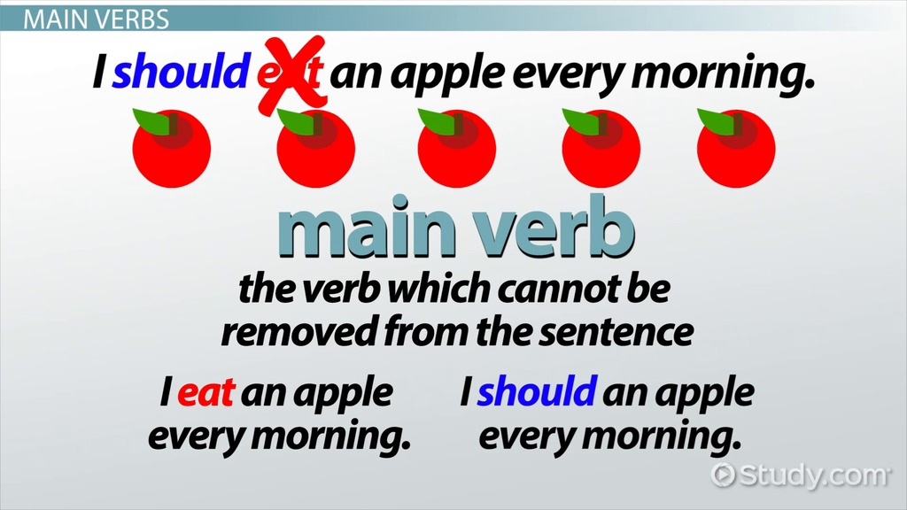 Auxiliary Verb Definition & Examples Video & Lesson
