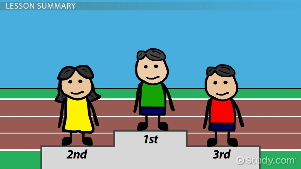 What Is An Ordinal Number? Definition & Example Video