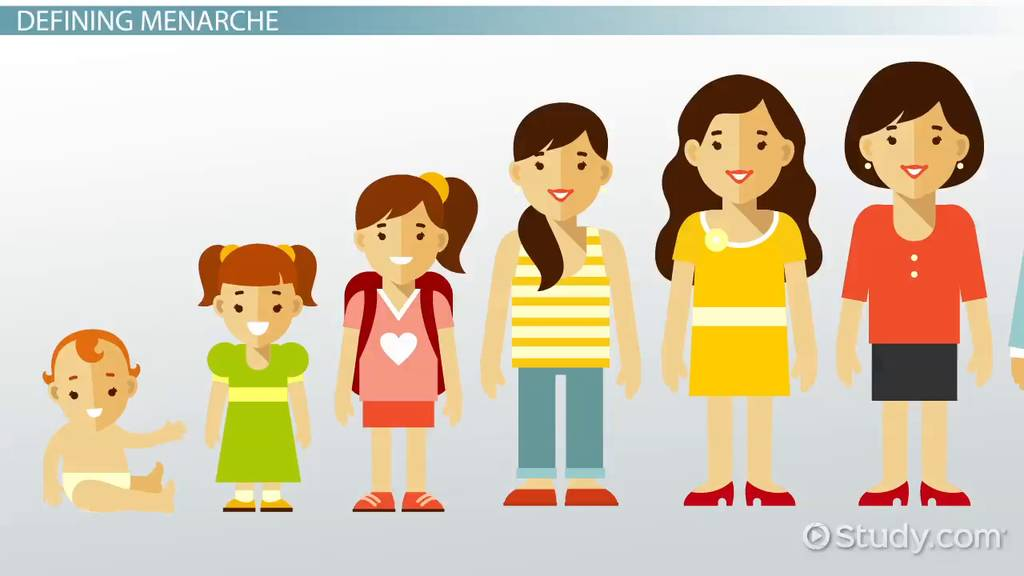 What Is Menarche  Definition Age  Growth  Video
