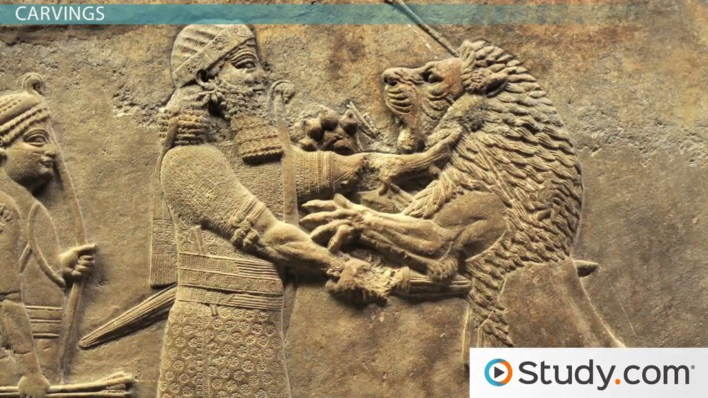 Assyrian Art And Architecture Video & Lesson Transcript