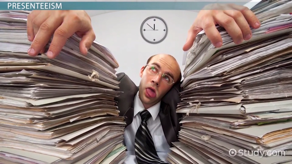 Absenteeism In The Workplace Causes Costs & Types