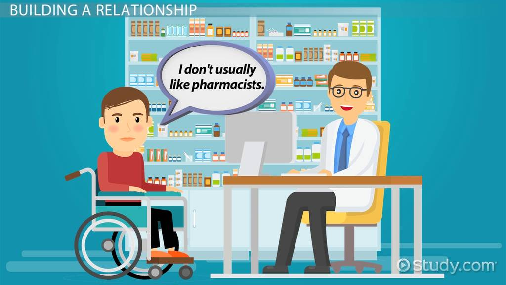 The PharmacistPatient Relationship  Video  Lesson Transcript  Studycom
