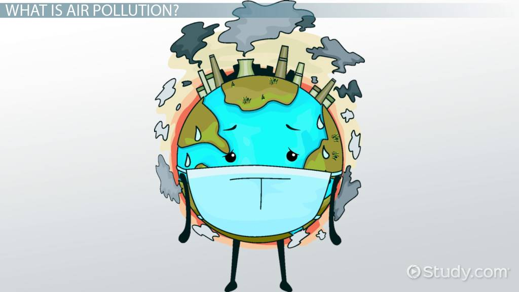Diagram Of Air Pollution Causes