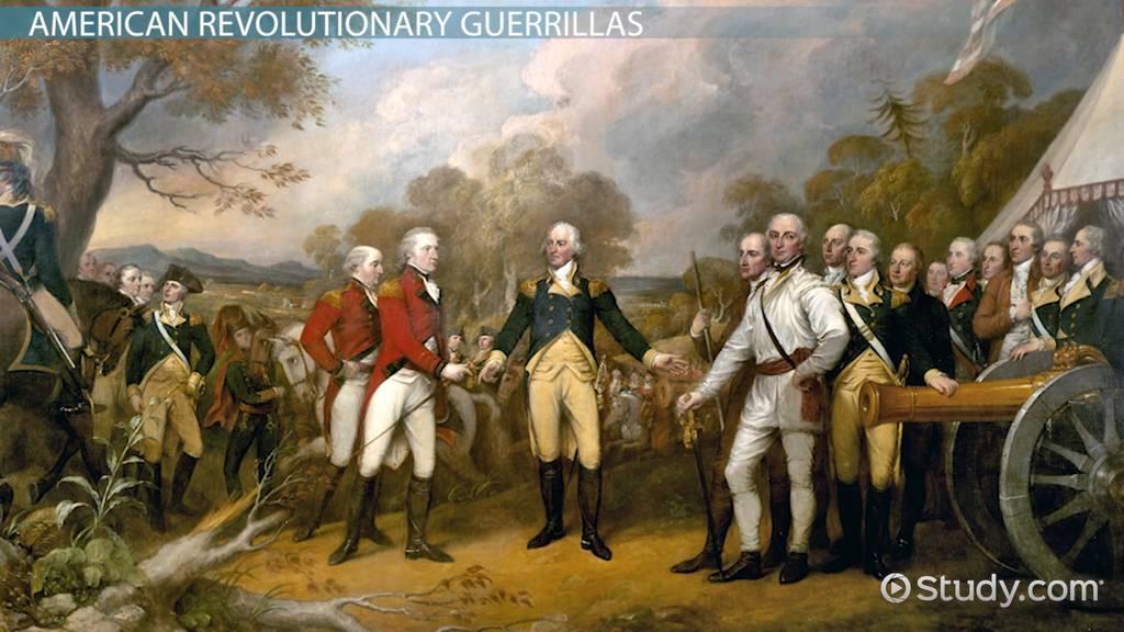 Guerrilla Warfare in the Revolutionary War  Video  Lesson Transcript  Studycom