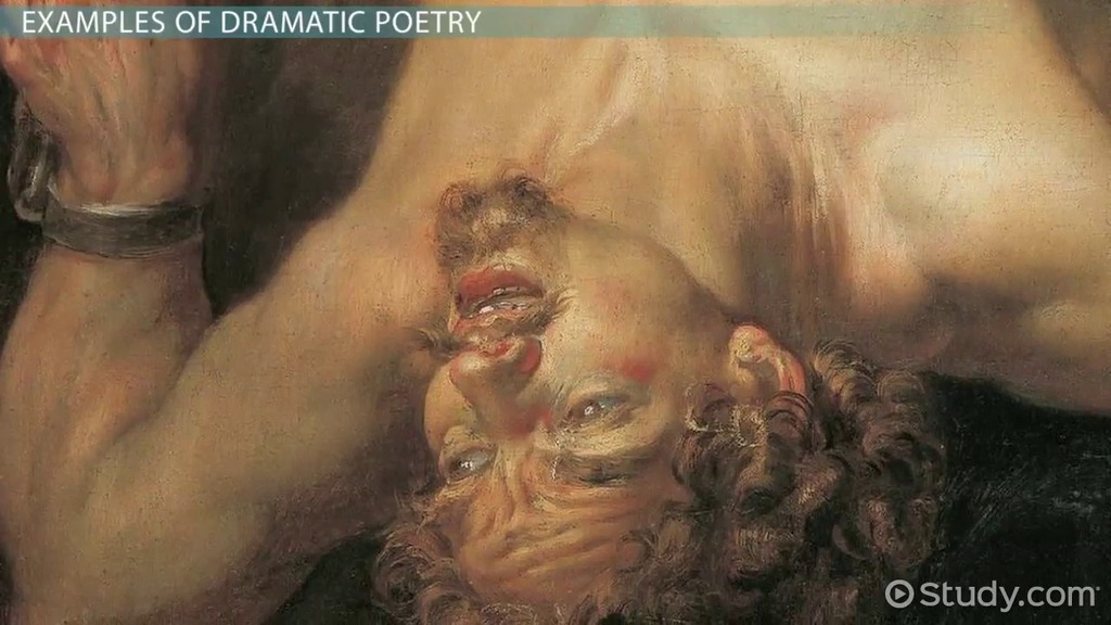 Dramatic Poetry Definition & Examples Video & Lesson